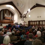 A picture of our audience at Oakmont Presbyterian Church, Sunday, April 22nd, 2012.