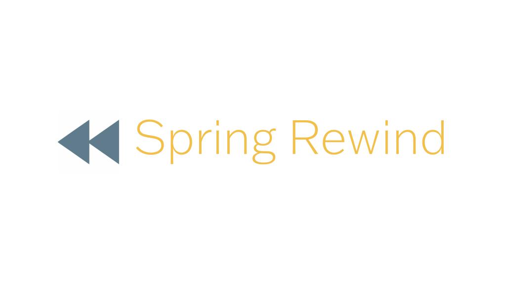 Spring Rewind Logo